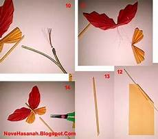 Cara Membuat Hiasan Dinding Kupu Kupu Kertas
