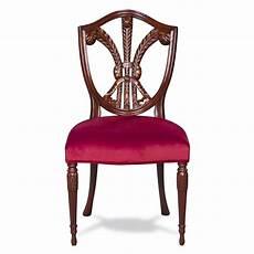 sitzkissen stuhl beistell stuhl vintage stuhl mit rotem sitzkissen aus holz
