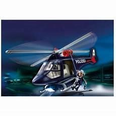 polizeihubschrauber mit led playmobil helikopter polizei