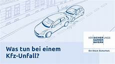 Was Tun Bei Einem Kfz Unfall Versicherungskammer Bayern