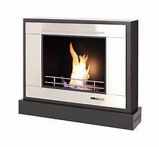 Vioflame Portable Fireplace Ethanol Spirit Heater Black
