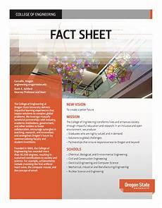 fact sheet college of engineering oregon state university