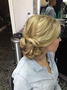 Side Swept Bun Hairstyles For Weddings