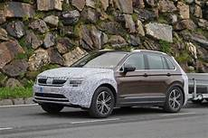 2018 Skoda Yeti Spied Looks Like A Volkswagen Tiguan With