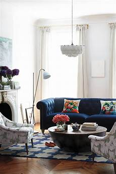 Blue Sofa Living Room Ideas 25 stunning living rooms with blue velvet sofas