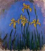 Yellow Irises 1914  1917 Claude Monet WikiArtorg