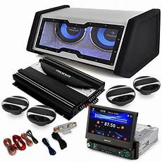 auto endstufe auna 4 1 moviemedia set hifi voiture autoradio