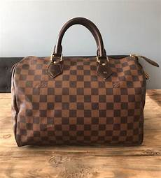 sac louis vuitton speedy 30 louis vuitton speedy 30 damier ebene sac 224 catawiki