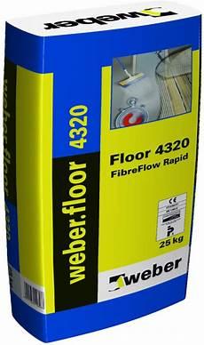 chape liquide en sac weber mortier de chape mince fluide weberfloor 4320