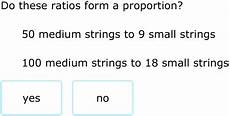 ixl do the ratios form a proportion word problems 8th