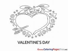 bunnies children s day colouring page