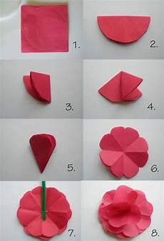 Papierblumen Basteln Mit Kindern Sch 246 Ne Ideen Und