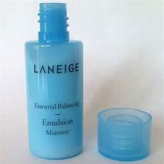 laneige essential balancing emulsion moisture 15ml 0 51oz 10ea 11street malaysia moisturisers