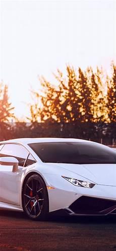 iphone 6 lamborghini huracan wallpaper lamborghini huracan white supercar sunset glare