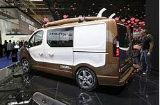 surf s up for production intent opel vivaro carrier