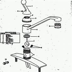 delta kitchen faucet replacement parts single handle