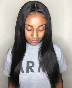 Weave Hairstyles Middle Part