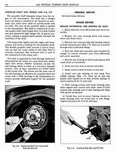 online auto repair manual 1961 pontiac tempest lane 1961 pontiac tempest shop manual rear axle page 4 of 28