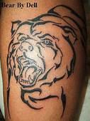 Bear Tattoo Images & Designs