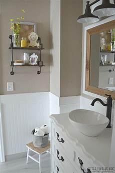 Bathroom Ideas Farmhouse by Farmhouse Master Bathroom Reveal Vintage Nest