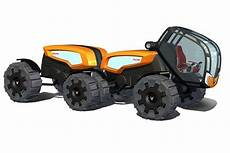 farm tractor concepts from ants future tractor trailer design concept green big truck