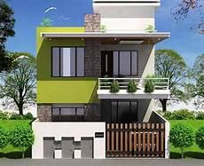 10 Desain Eksterior Rumah Minimalis 2 Lantai Di Lahan