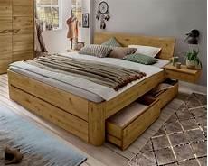 Beeindruckend Holzbalken Bett Selber Bauen Holz Rahmen