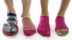 chaussette pour tong knit tricote moi des tongs