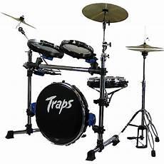 Traps Drums A400 Portable Acoustic Drum Set Musician S