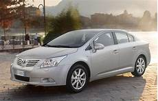 Toyota Avensis Sedan 2009 2012 Reviews Technical Data