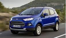 Ford Ecosport Ab 2014 Daten Fakten