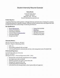 resume tips for college students internships