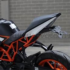 evotech kennzeichenhalter f 252 r motorrad ktm rc 125 390