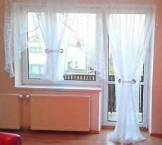 fertiggardine aus voile balkon set sch 246 ne wei 223 e gardine hg