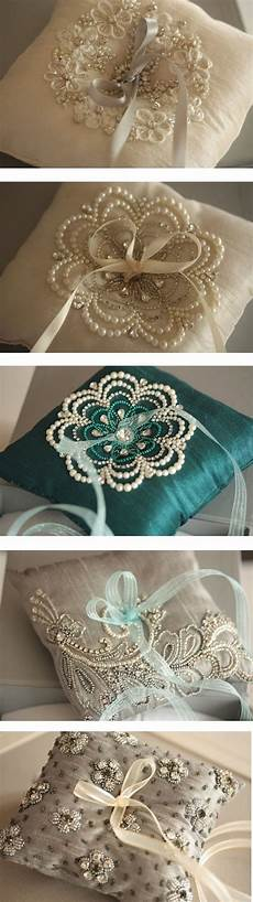 idea for pillows and cushions just love the pretty beadwork ring pillow wedding wedding