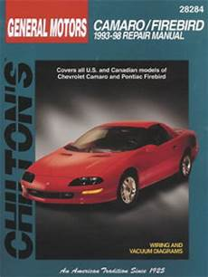 hayes auto repair manual 1993 chevrolet camaro engine control chilton chevrolet camaro pontiac firebird 1993 2002 repair manual