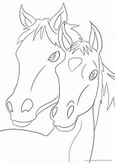 das elfte ausmalbild mit pferd und fohlen ausmalbilder