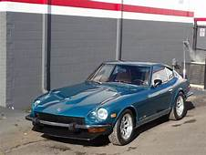 1974 Datsun 260Z 87297 Miles Blue Green Coupe  Classic