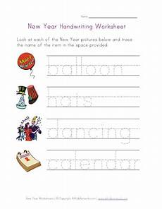 new year worksheets printable free 19413 new year handwriting worksheet www allkidsnetwork handwriting worksheets worksheets for