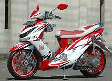Modifikasi Motor Matic Mio Sporty by Modifikasi Paling Keren Motor Mio Sporty