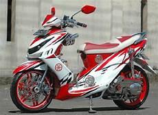 Modif Motor Sport Paling Keren by Modifikasi Paling Keren Motor Mio Sporty