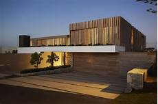 modern style architectural wooden facade modern house design by saota architecture