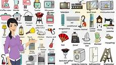 Office Kitchen Items List by Household Appliances And Equipment Vocabulary In