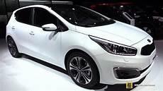 kia platinum edition 2016 kia ceed 1 6 crdi platinum edition exterior interior walkaround 2015 frankfurt motor
