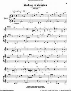 walking in memphis sheet music piano pdf cohn walking in memphis sheet music for keyboard or piano pdf