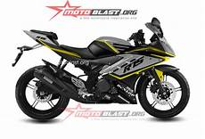 Striping R Modif by Modif Striping Yamaha R15 Black Elegan Motoblast