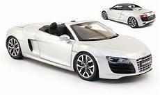 modellautos audi r8 spyder 1 18 kyosho 4 2 fsi grau 2010