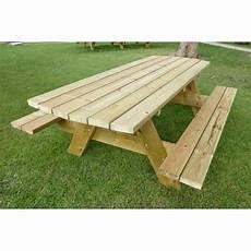 Table De Pique Nique Pour 10 Personnes Grande Table En