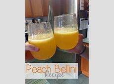 peaches in champagne_image