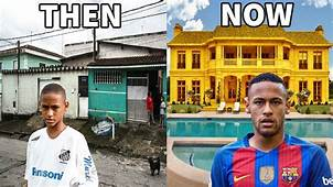 10 Footballers Houses  Then And Now Ronaldo Neymar